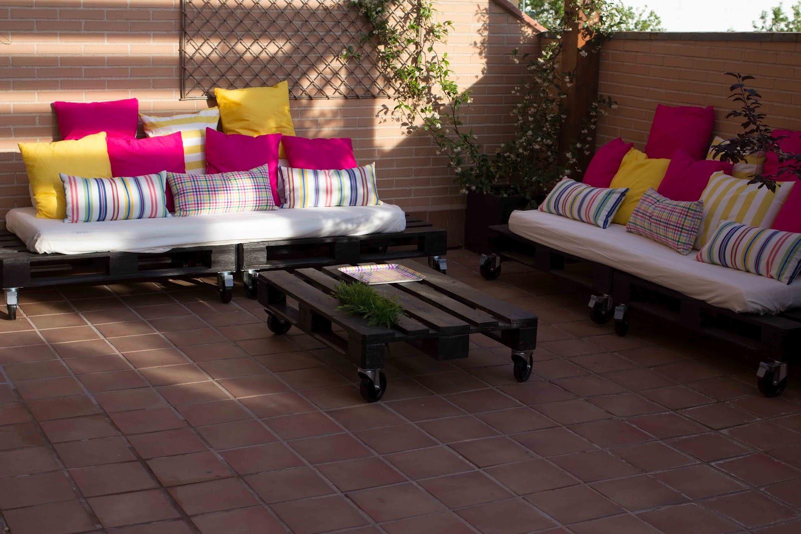 sof de pals para la terraza