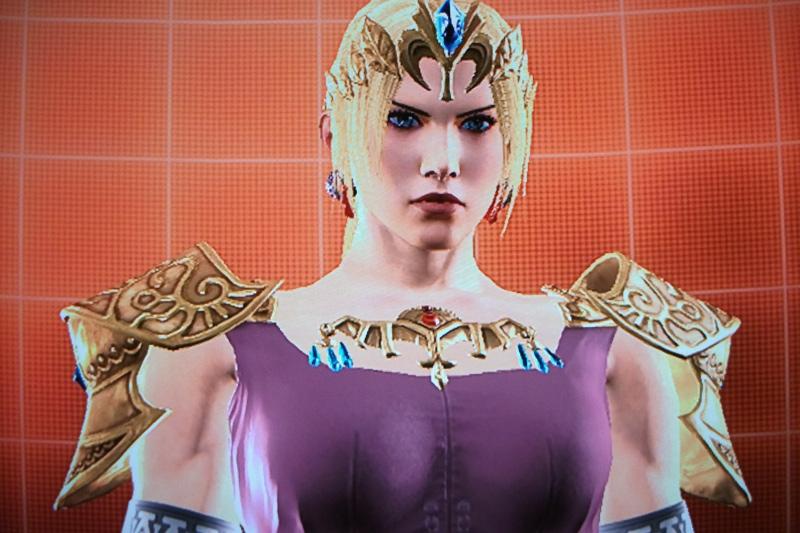 Tekken Nina Nintendo Princess Outfit
