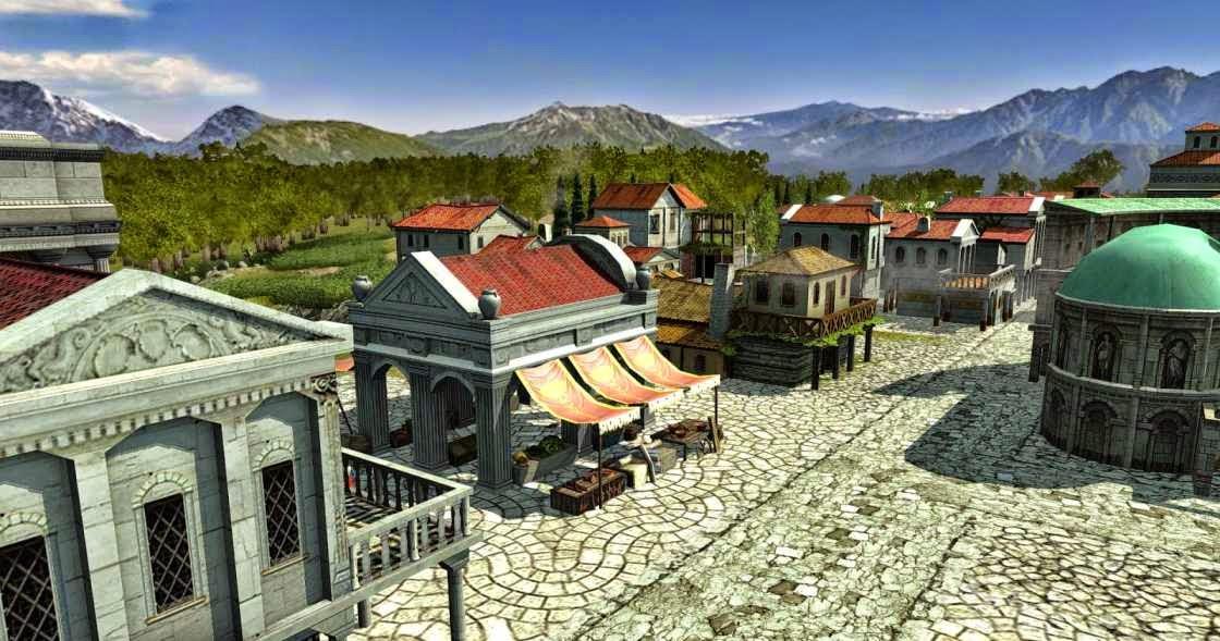 Edificios de la antigua Roma