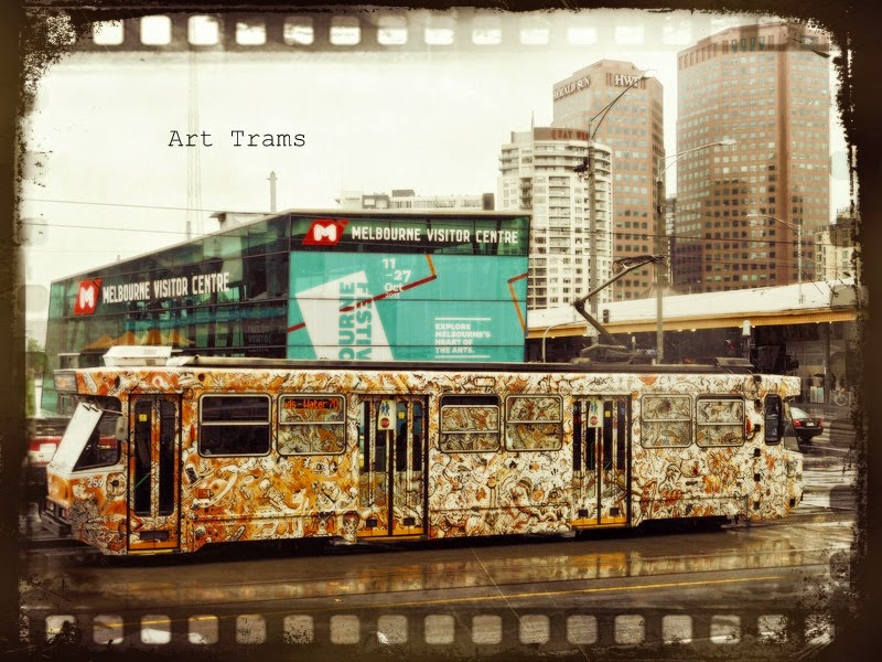 Melbourne Art Trams