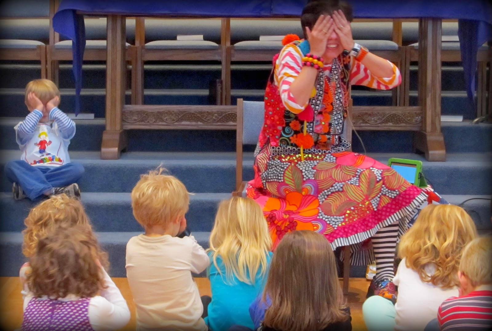 """""""Close your Eyes for a BIG Surprise!"""" Author Visit with Debbie Clement"""
