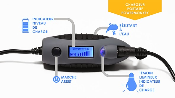 Bruno poulenard chargeur portatif solaire power monkey - Chargeur solaire decathlon ...