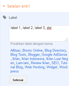 label,kategori,tags,blog,blogger,artikel,article