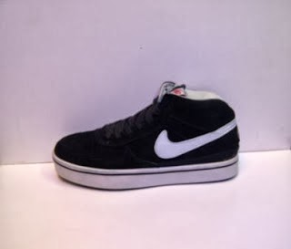 Sepatu Nike 6.0 Suede Import hitam murah