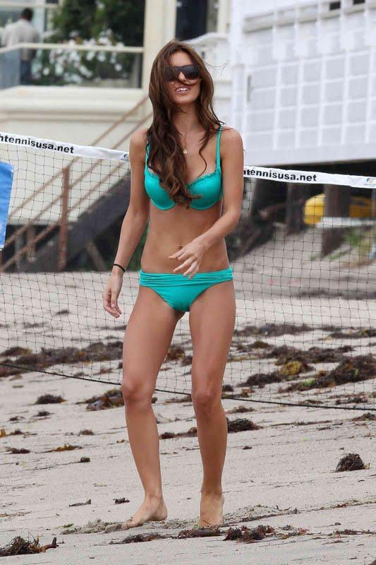 Audrina Patridge – Bikini Candids in Malibu