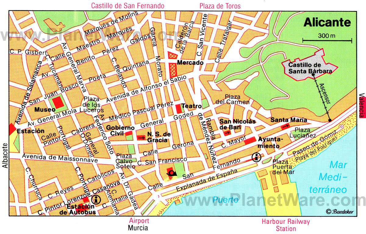 Испания торревьеха карта на русском