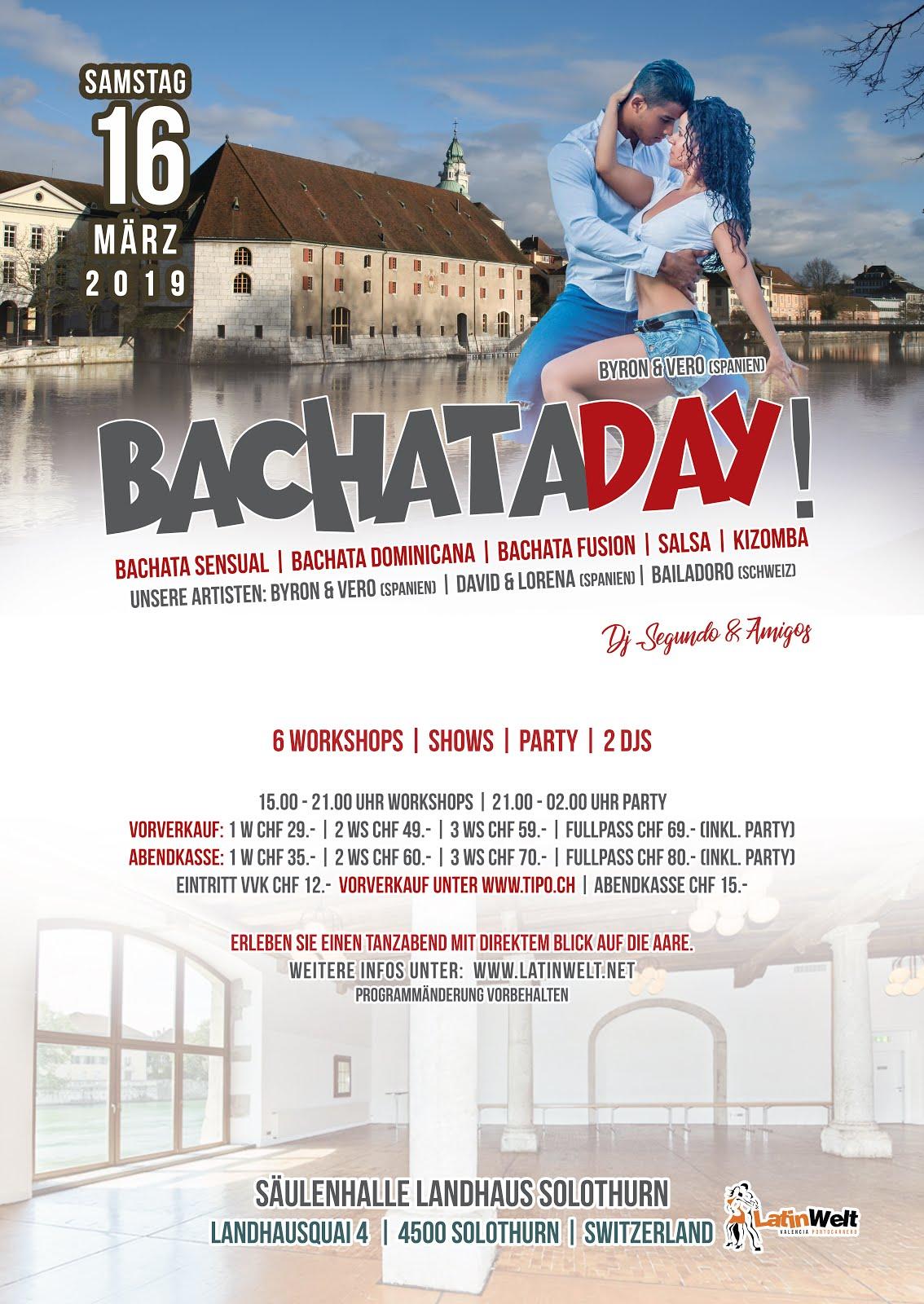 BACHATA DAY | SA. 16.03.2019