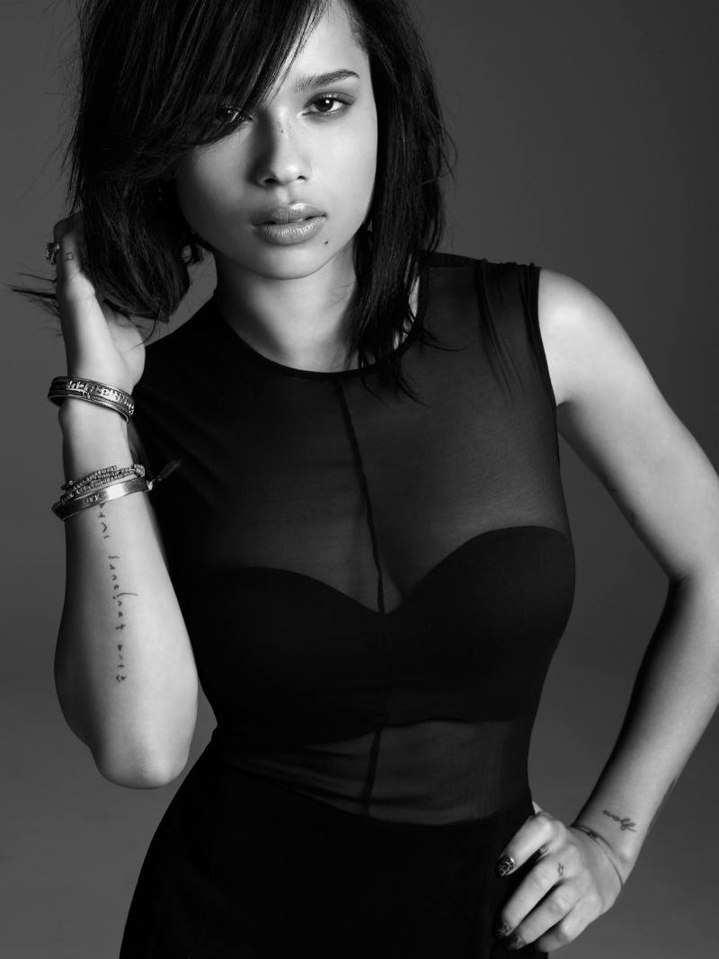 Zoe Kravitz By Simon Burstall