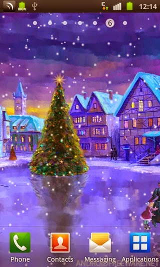 also see merry christmas images for iphone - Christmas Wallpaper For Android