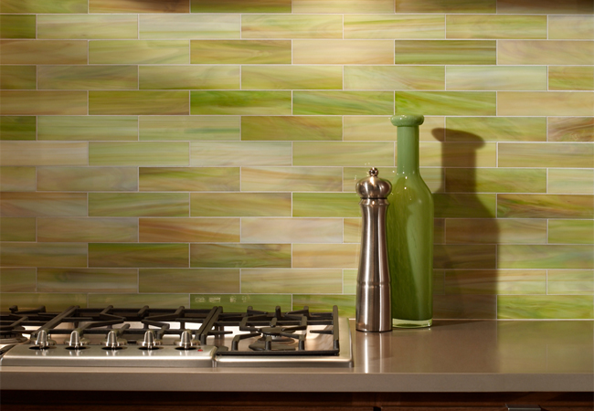 Kitchen Tiles Green kitchen tiles green the whole enchilada throughout design decorating