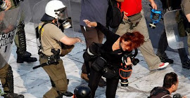 Jornalistas gregos são agredidos