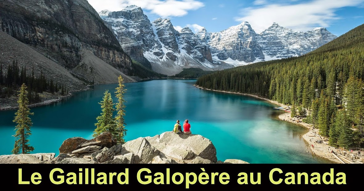 Le Gaillard Galopère au Canada