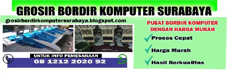 Jasa Bordir Komputer Surabaya