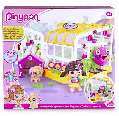 TOYS : JUGUETES - PINYPON - Cabaña de la mascota  Famosa 2016 | A partir de 4 años  Comprar en Amazon España