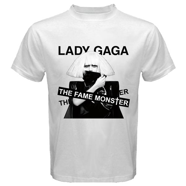 Lady Gaga T Shirts,Lady GaGa,Celebrity Styles