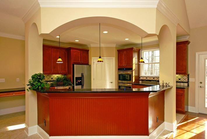 wall color for beige kitchen cabinets