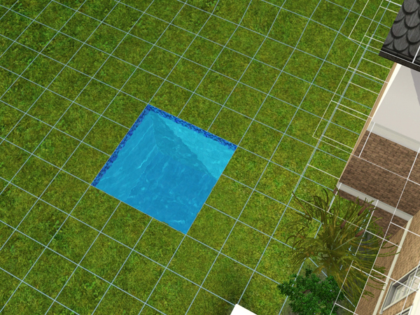 The sims 3 piscinas for Piscina hinchable 2x2