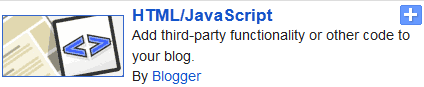 HTML/Java Script in Blogger.com