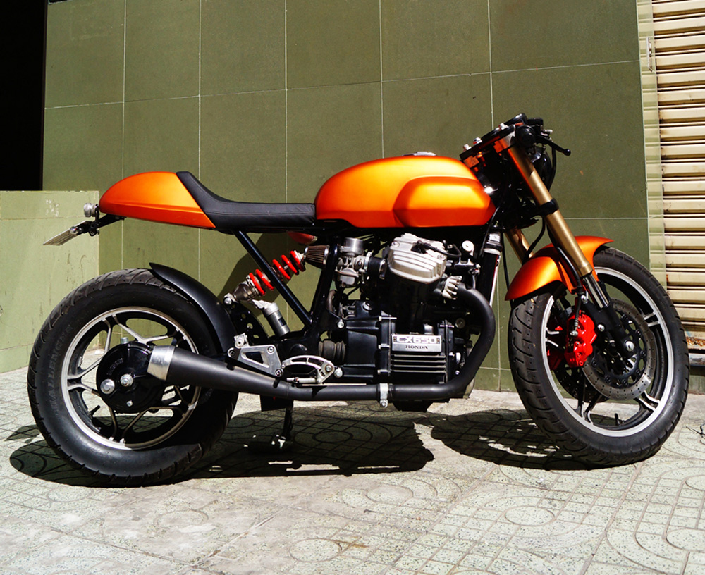 honda cx650 cafe racer way2speed. Black Bedroom Furniture Sets. Home Design Ideas