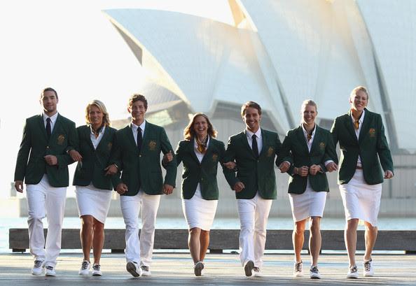 Australia london olympic uniform