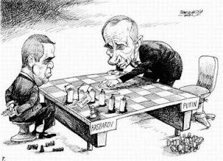 Garry Kasparov face à Poutine