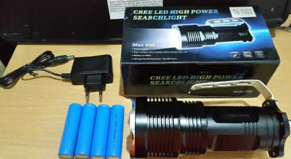 Senter Police LED Cree T6 Type 7002