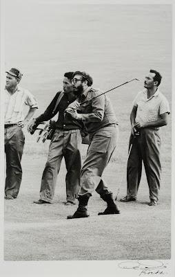 Fidel Jugando Golf (1959) by Korda