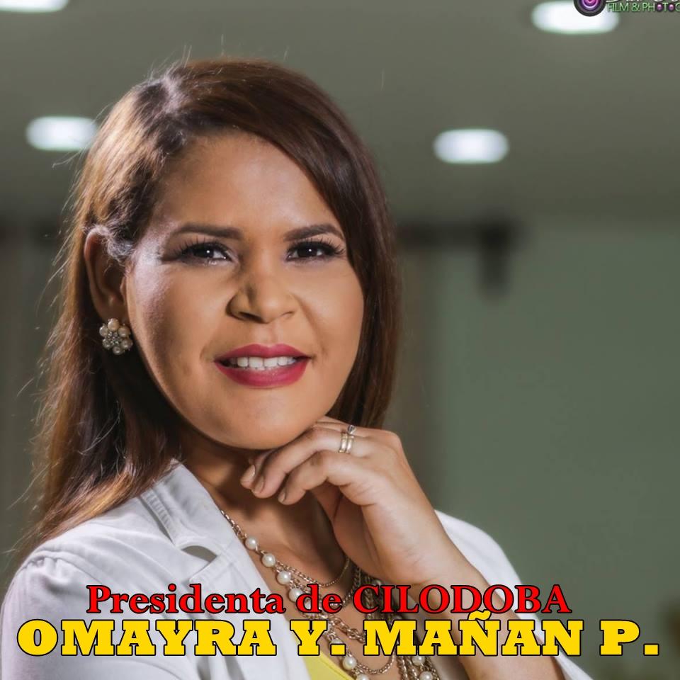 OMAYRA Y. MAÑAN PEREZ, PRESIDENTA DE CILODOBA