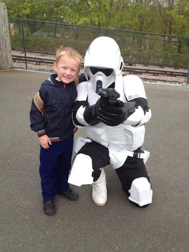 storm trooper, legoland Windsor