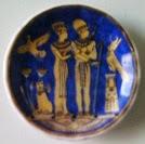 Египетский сувенир тарелка