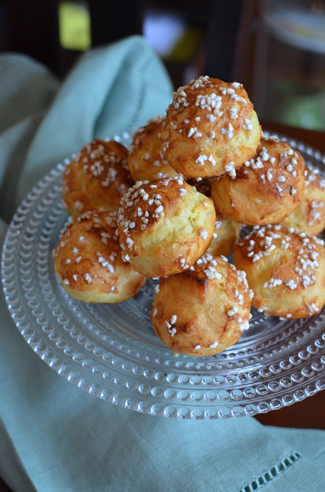 Playing with Flour: Chouquettes