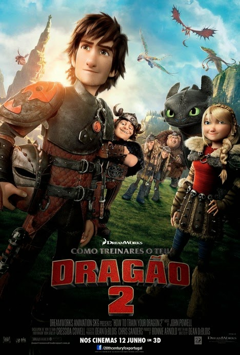 How to train your dragon 2 poster coletivo segundo trailer how to train your dragon 2 poster coletivo segundo trailer ccuart Image collections