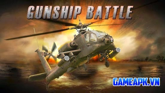 GUNSHIP BATTLE : Helicopter 3D v2.0.2 hack full cho Android