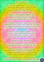 Lyric Lagu Bergambar Agnes Monica