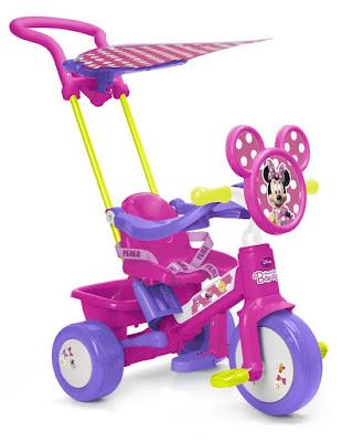 TOYS : JUGUETES - FEBER  Triciclo Minnie Boutique | Bow-tique | Niña  Producto Oficial | Famosa - Disney 700009971 | A partir de 1 año  Comprar en Amazon España