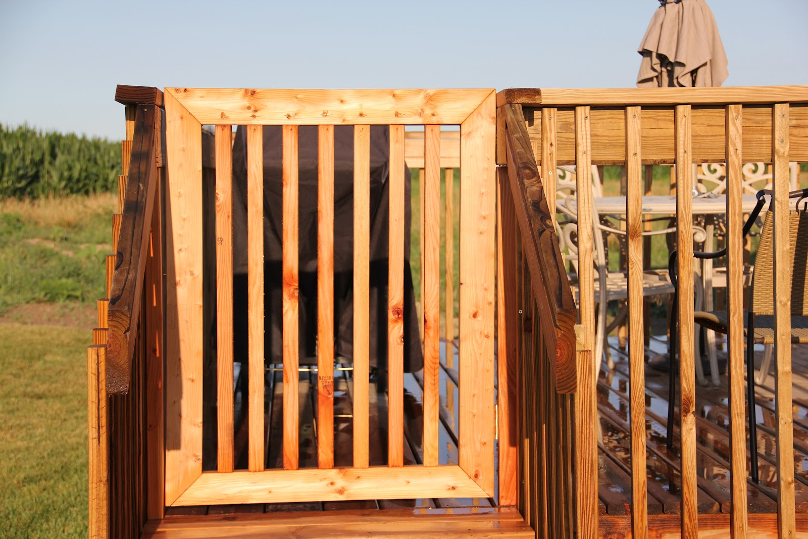 Why buy it when you can build it deck gate Building a deck