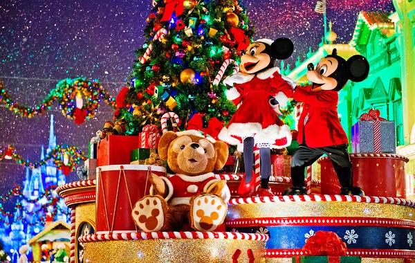 Mês Dezembro Natal Orlando Disney