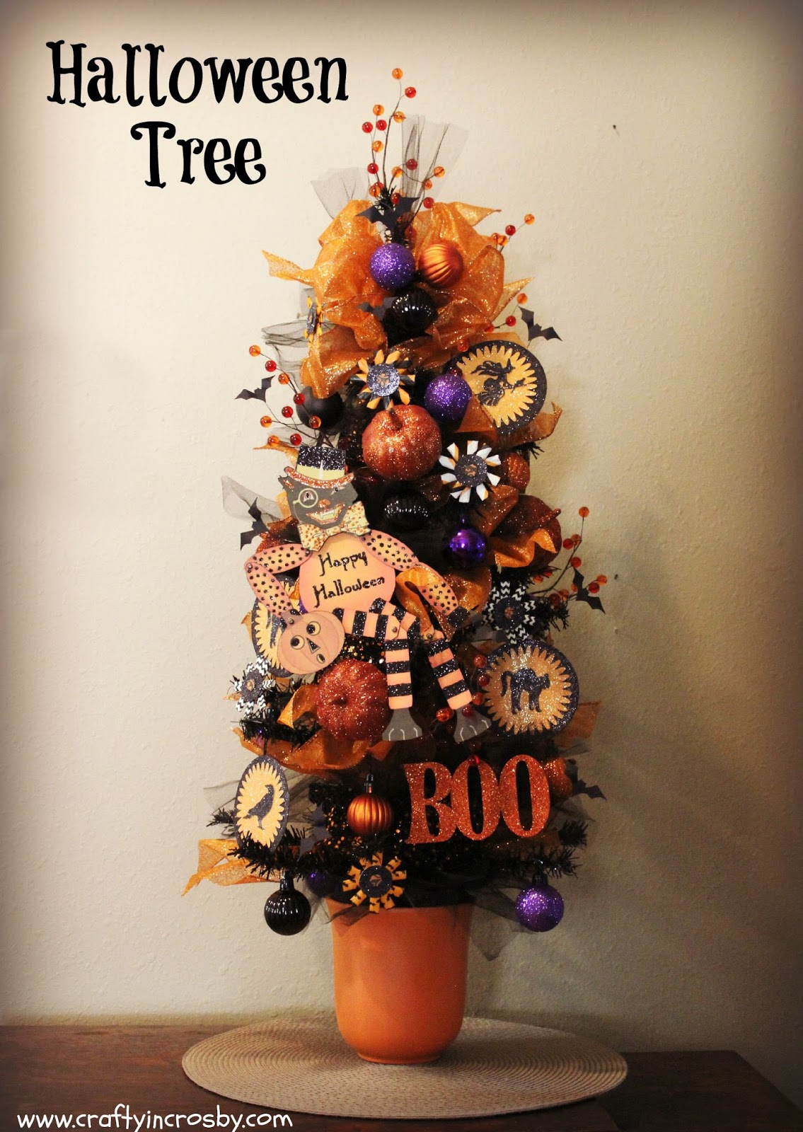 Halloween tree ornaments - Halloween Paper Crafts Paper Straws At Home Hobby Lobby All Hallows Eve