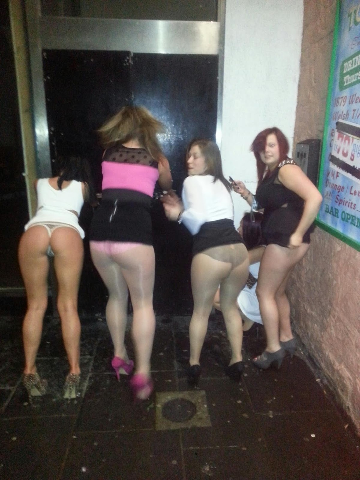 sluts night out