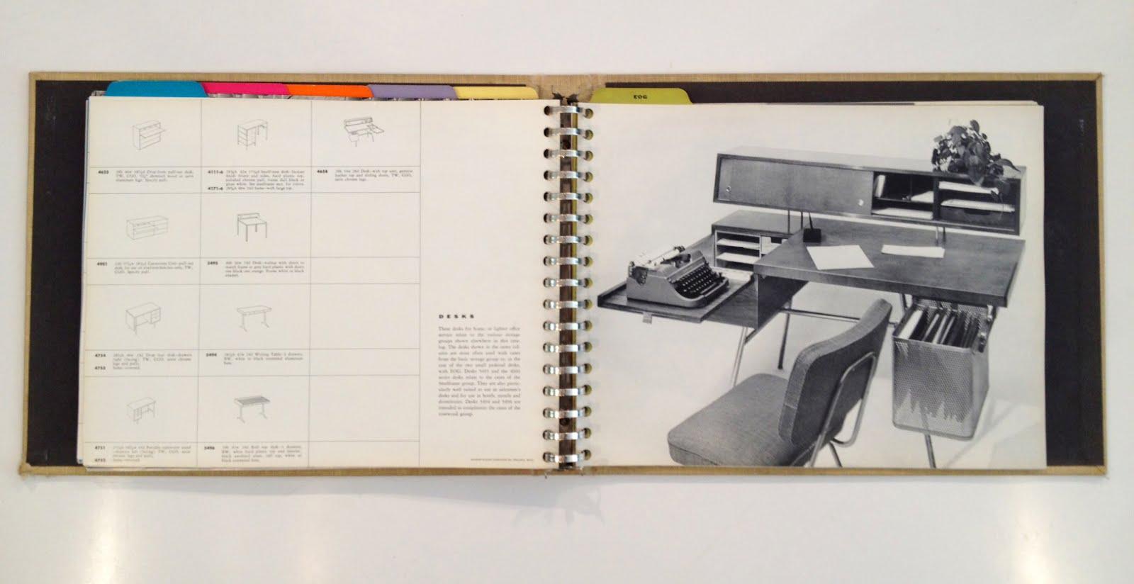 jenny florence 1955 herman miller collection catalog. Black Bedroom Furniture Sets. Home Design Ideas