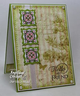 ODBD Products - Cathedral Window - Marble, Sentiments Collection 2