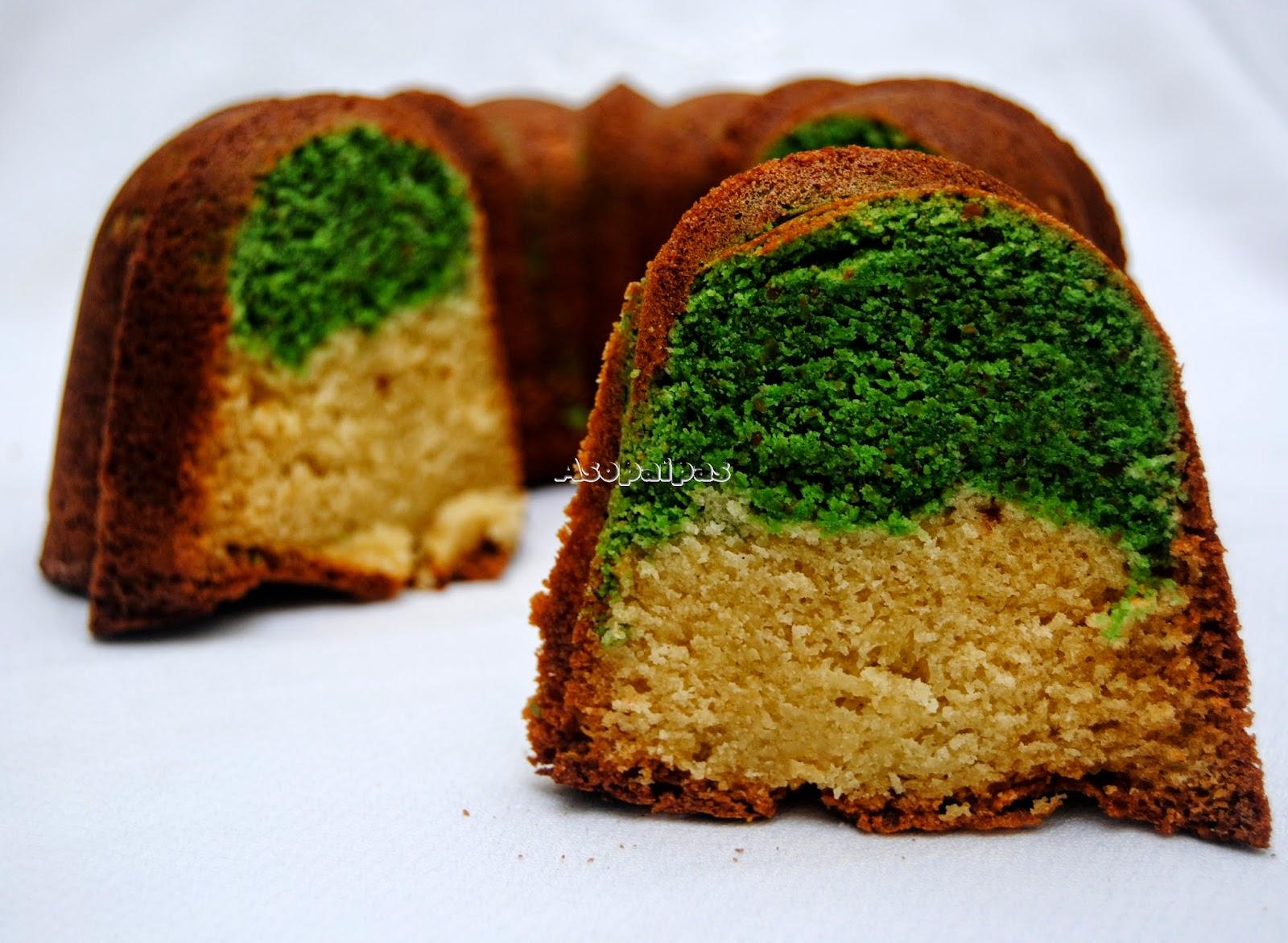 Bundt Cake de Pistachos y Vainilla