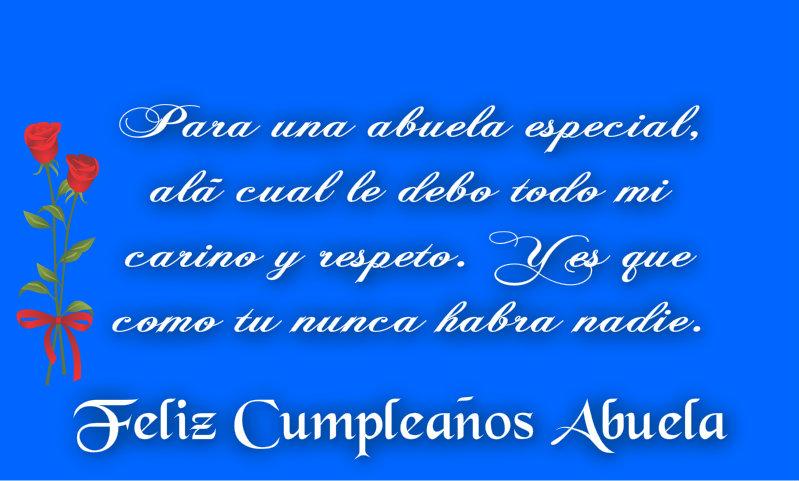 Feliz Cumpleanos Querida Abuela Feliz Cumpleaños Abuela y
