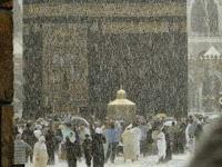 Mekah dan Madinah Turun Salju Pertanda Kiamat Sudah Dekat