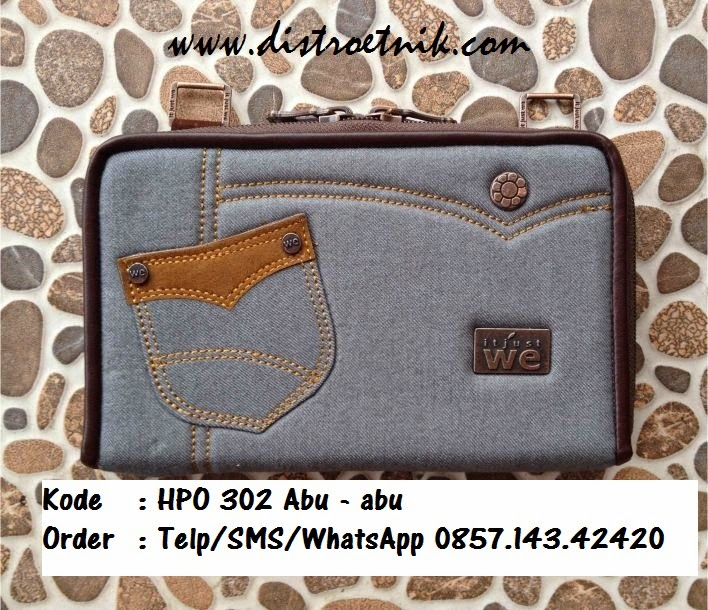dompet hpo jeans it just we hpo 302 abu