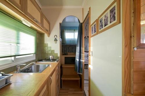 07-Kitchen-Area-Bathroom-Entrance-Bedroom-2-Yosi-Tayar-Animator-RV-Home-Recreational-Vehicle-www-designstack-co