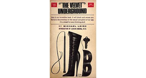 Meaning of band name Velvet Underground - book cover