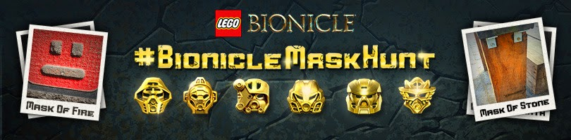 LEGO Bionicle Mask Hunt win a gold mask of power