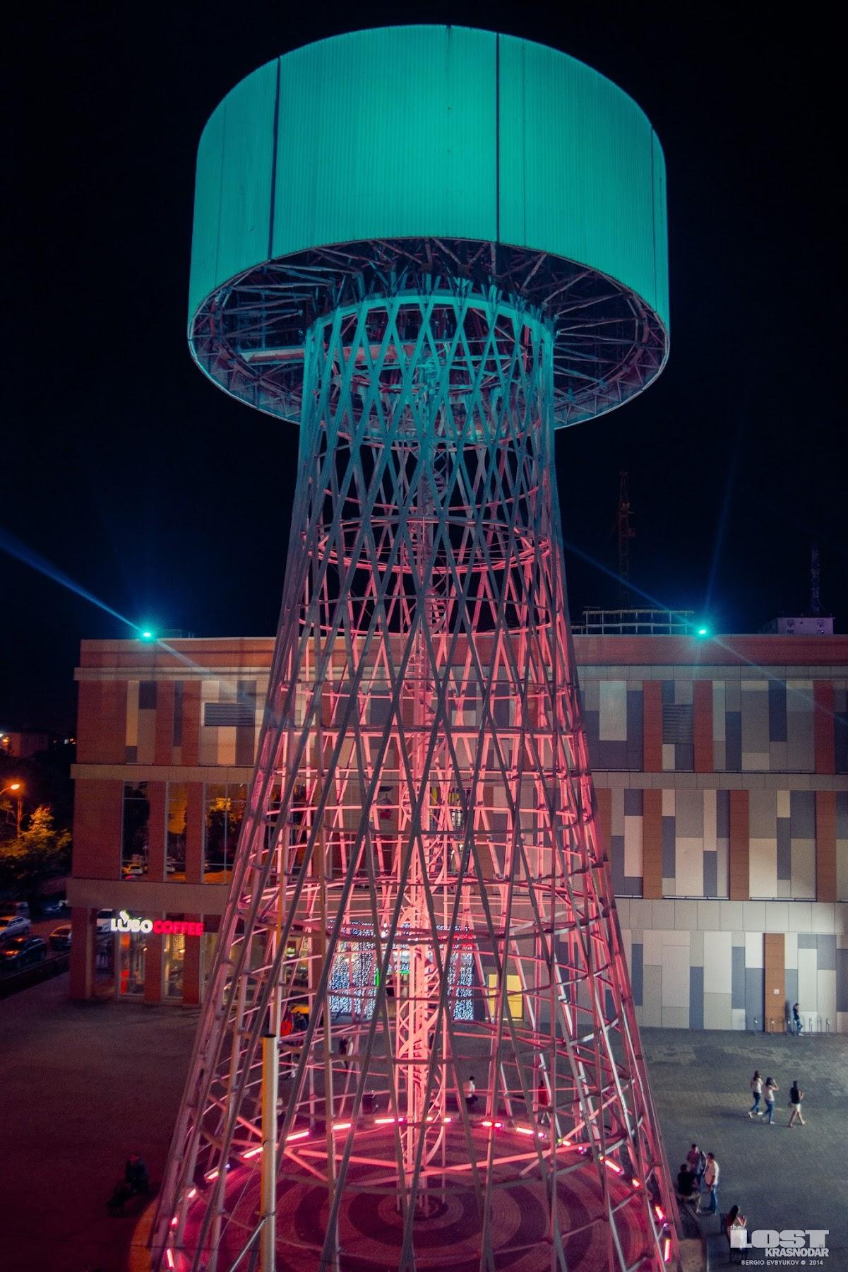Башня Шухова в Краснодаре