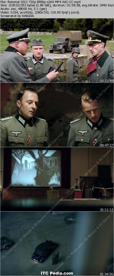 Rommel (2012) 720p BRRip x264 AAC - CC